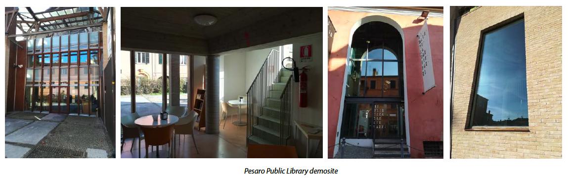 pesaro public library demo
