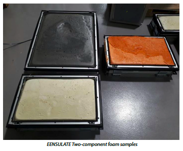 two component foam samples