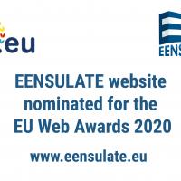 EENSULATE nominated for the 2020 .eu Web Awards