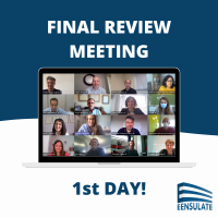 EENSULATE - Final review meeting 1st day
